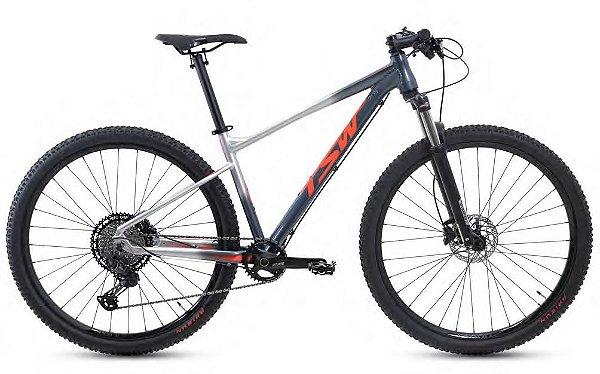 Bicicleta MTB TSW Hurry Pro Aro 29 22V Edição Limitada