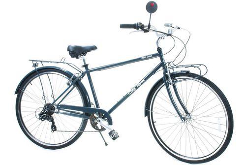 Bicicleta City Kom Lane Masculina Aro 700 7V
