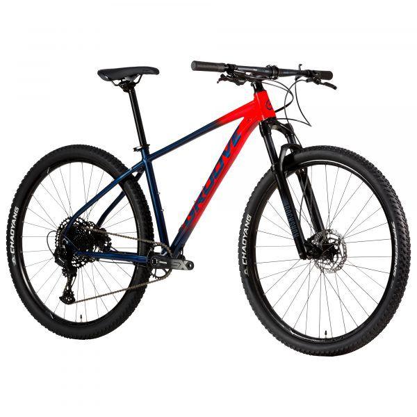 Bicicleta Aro 29 - Groove SKA 90.1 Vermelha - 2021 -  Sram SX Eagle 12V - Rock Shox