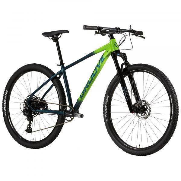 Bicicleta Aro 29 - Groove SKA 70.1 Verde - 2021 -  Sram SX Eagle 12V