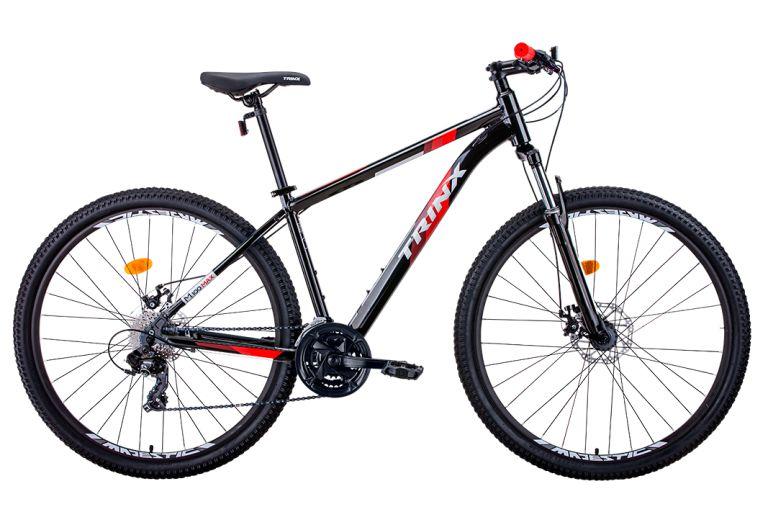 Bicicleta Aro 29 - Trinx M100 Max - 21 Vel. Shimano Tourney - Alumínio - Azul ou Vermelha