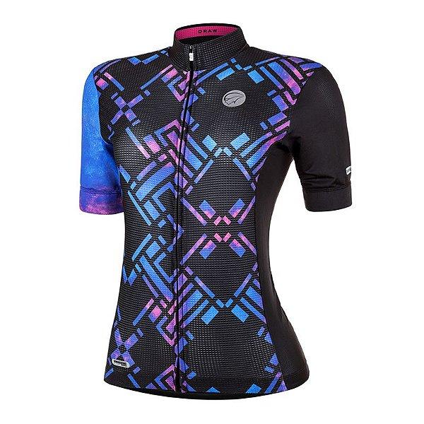 Camisa de Ciclismo Feminina Draw Mauro Ribeiro