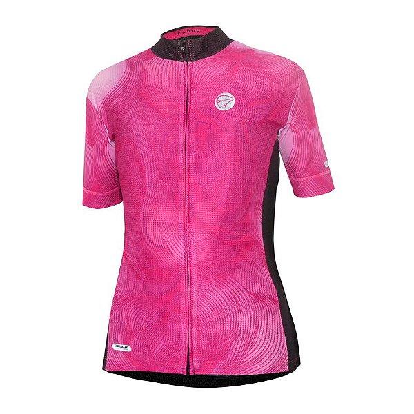 Camisa de Ciclismo Feminina Cloud Mauro Ribeiro
