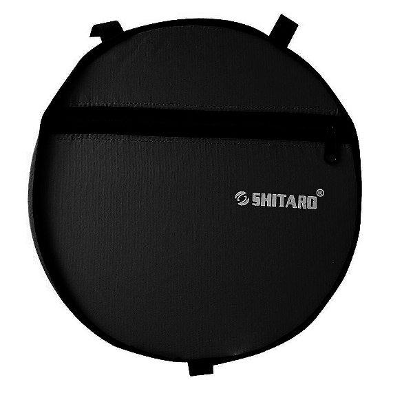 Bolsa Redonda Nylon Preto com Fixação para Quadro Barra Circular - Shitaro