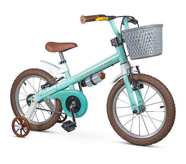 Bicicleta Infantil Aro 16 Nathor Antonella Girl