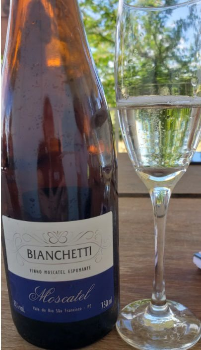 Espumante Bianchetti Moscatel  - 750ml