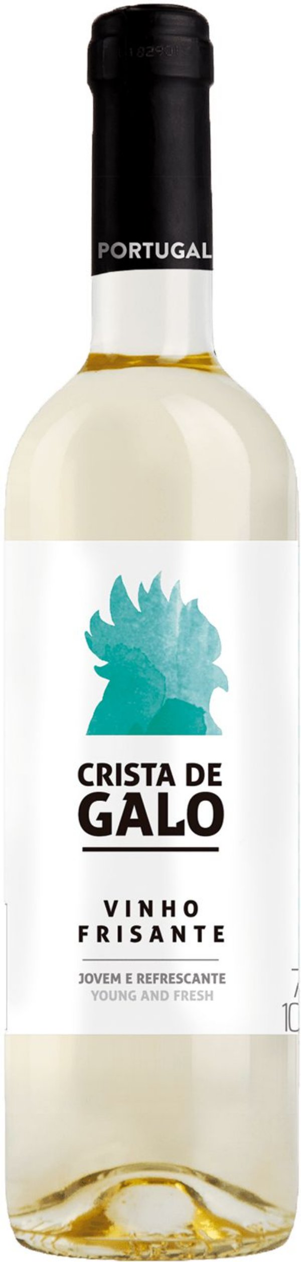 Crista de Galo Frisante Branco- 750 ml