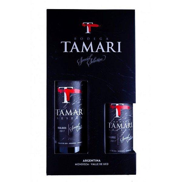 Kit Tamari Malbec 750ml e 375ml