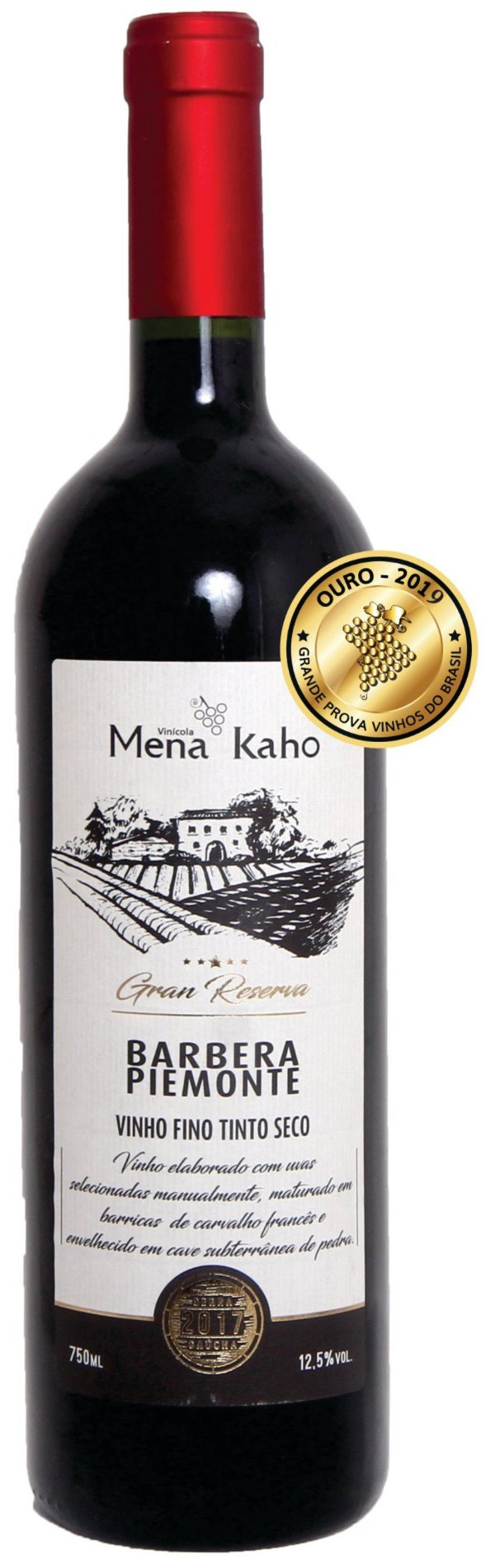 Mena Kaho Barbera Gran Reserva - 750ml