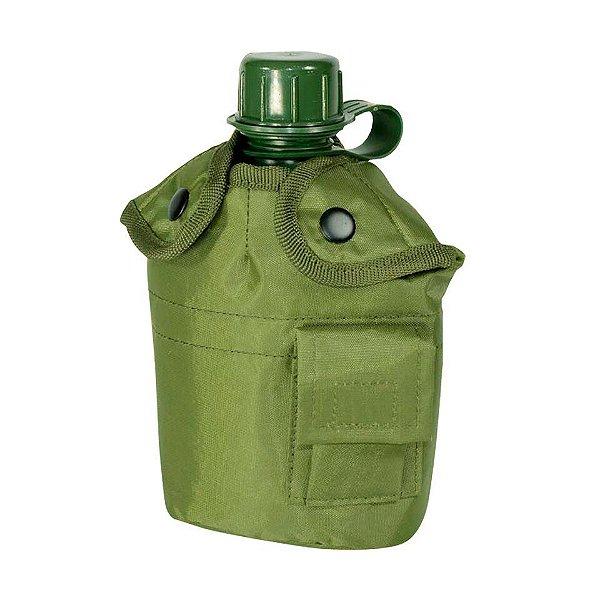 Cantil De Água Com Capa Verde 950ml Guepardo