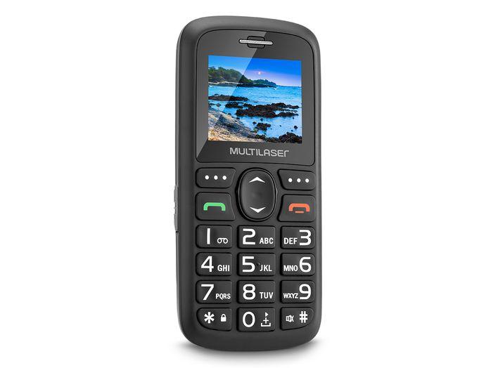 Celular Para Idoso Vita 3 Com Mp3 Radio Fm e Bluetooth