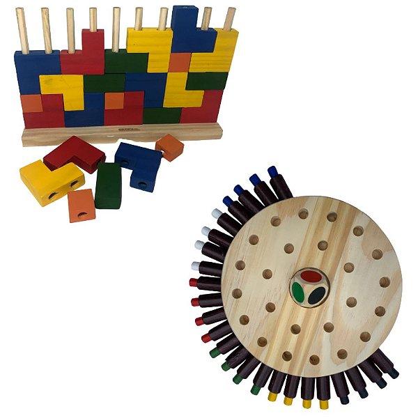 Kit Família- Tetris e Jogo da Memória