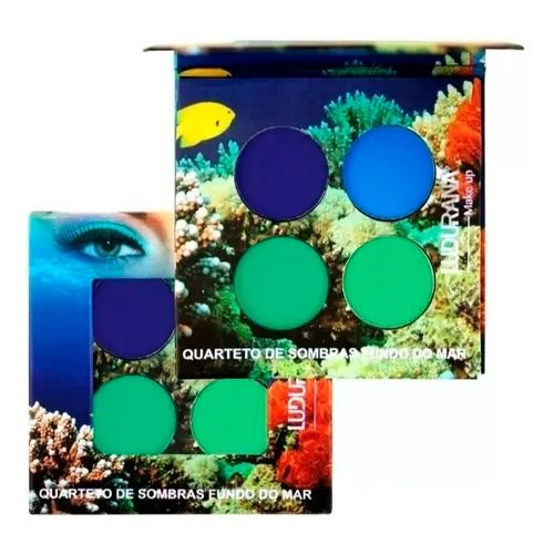 Quarteto de Sombras Fundo do Mar Ludurana