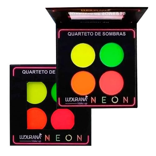 Quarteto de Sombras Neon Ludurana