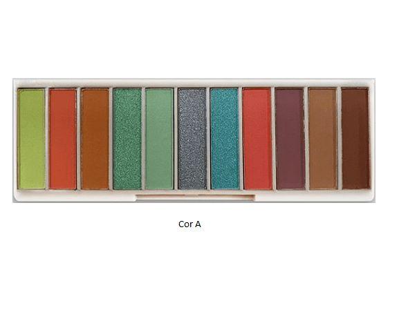 Paleta de Sombra 11 Cores Powerful Makeup SP Color