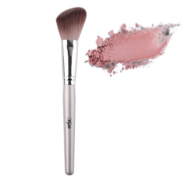 Pincel Chanfrado para Blush Mylife Cosméticos