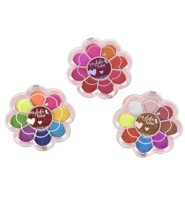 Paleta de Sombras Flower Mylife Teen