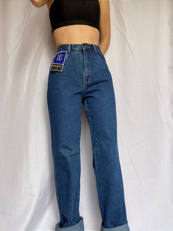 Calça Jeans Yves Saint Laurent (dourada)