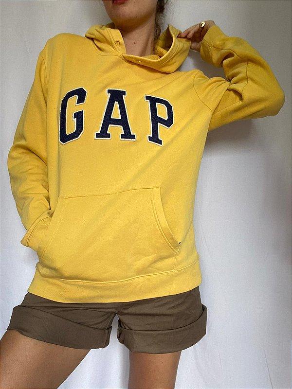 Moletom GAP Original Amarelo