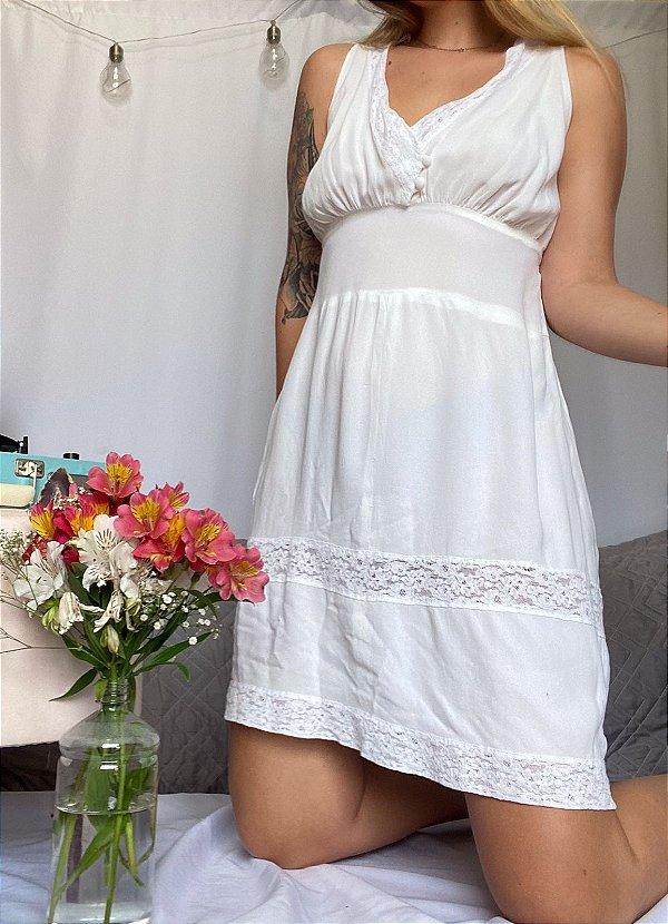 Camisola Lon Branca (P/M)