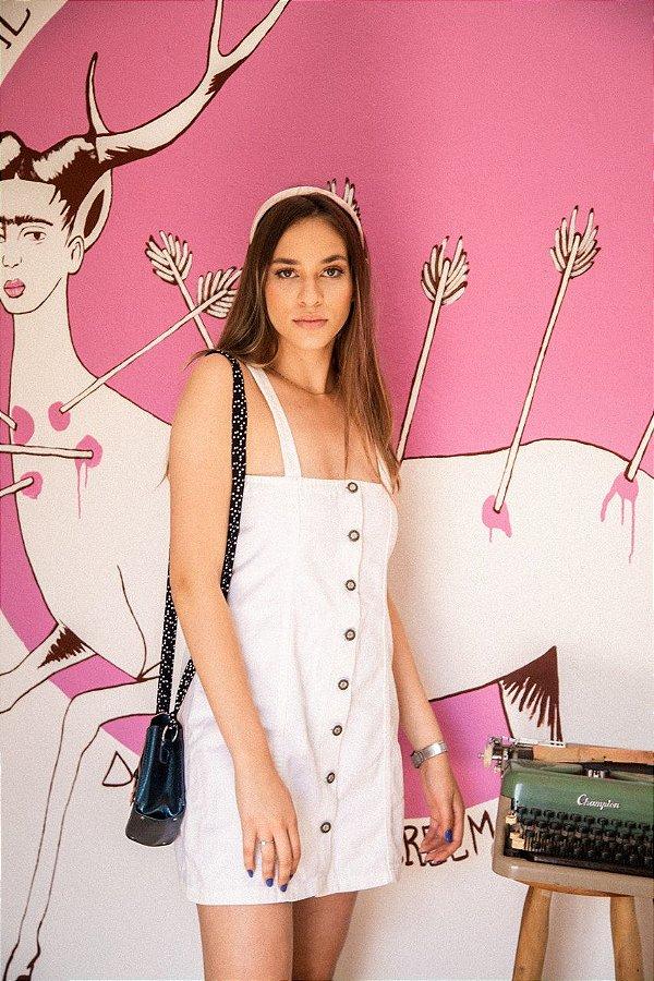 Vestido Jeans Branco (P/M)
