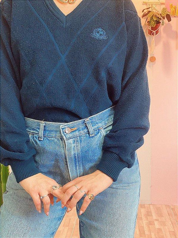 Suéter de lã vintage