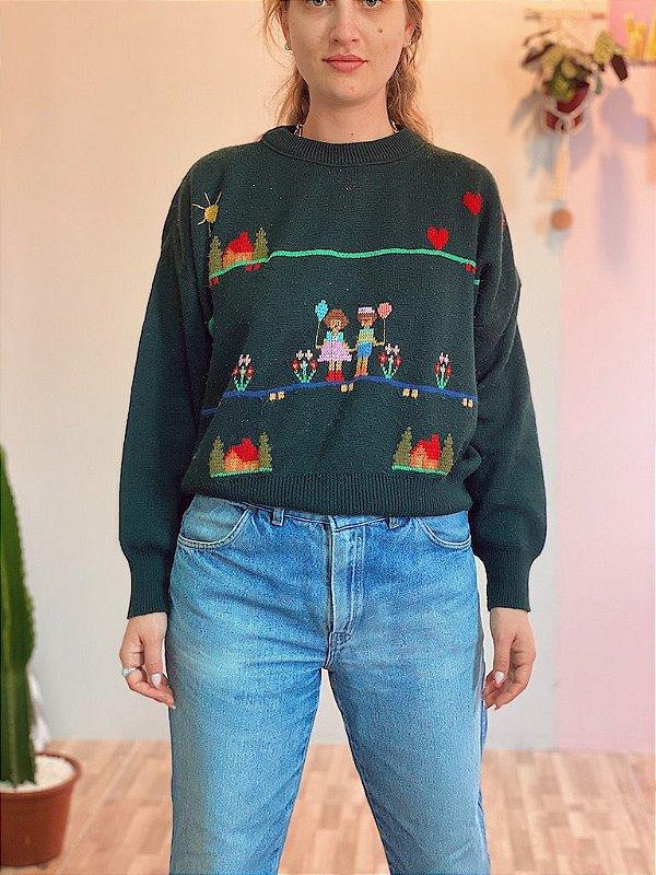 Suéter lanzinha fofo