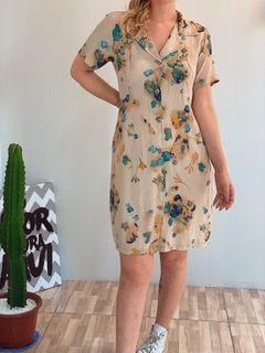 Vestido camisão flores