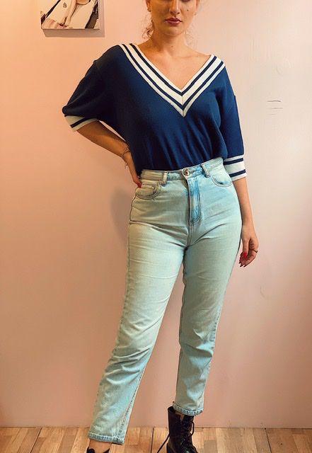 Calça MOM jeans Youcom