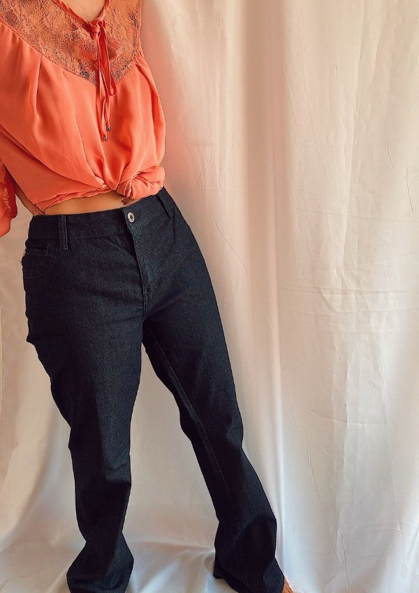 Calça jeans escuro ELLUS