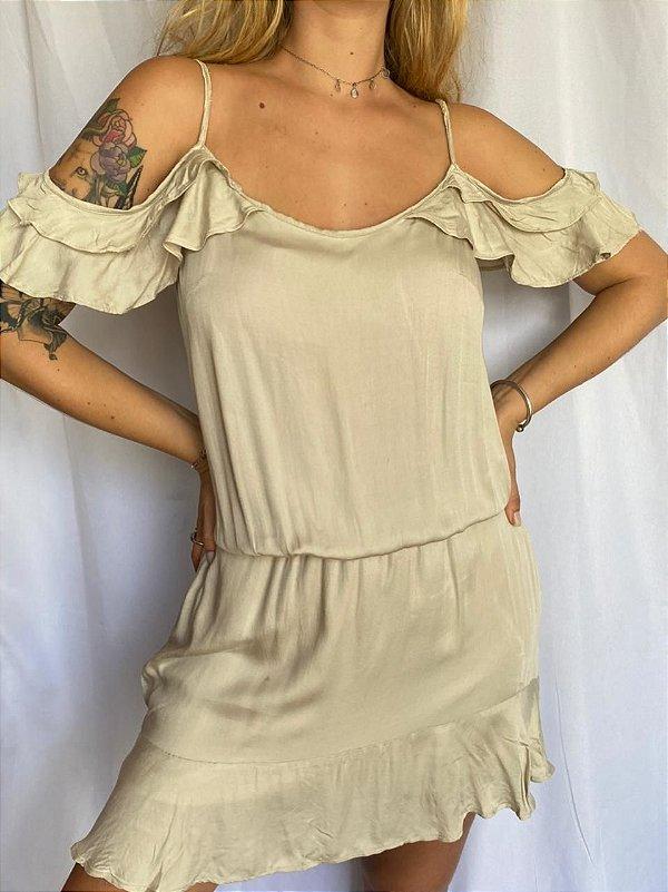 Vestidinho Bege (M)