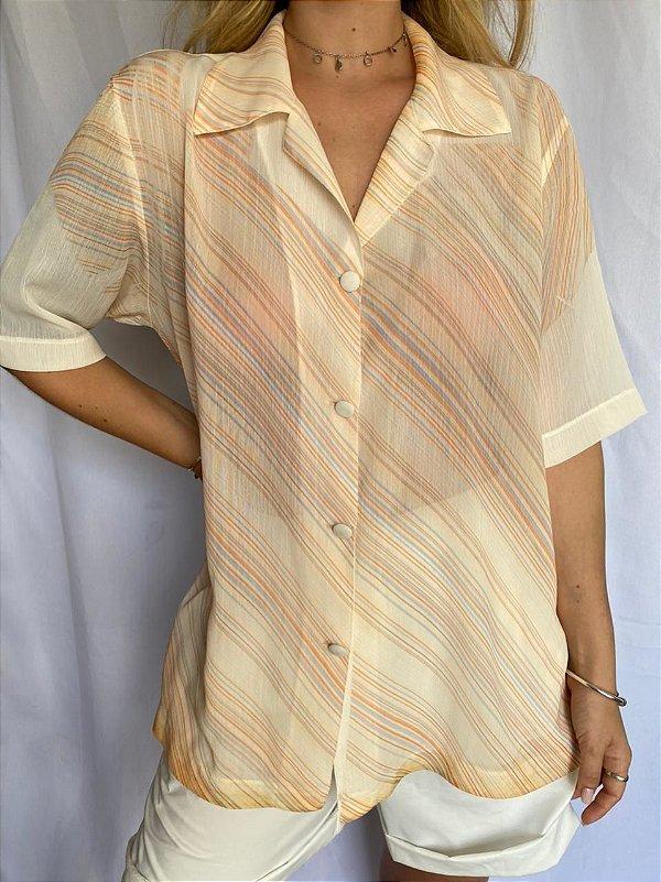 Camisa Alaranjada (M/G)
