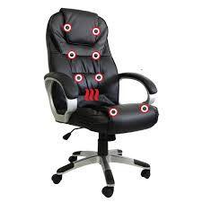 Cadeira de Escritório Presidente Aquecimento E Massagem