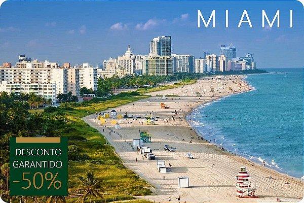 MIAMI - Hotel + Traslados + Tour de Compras