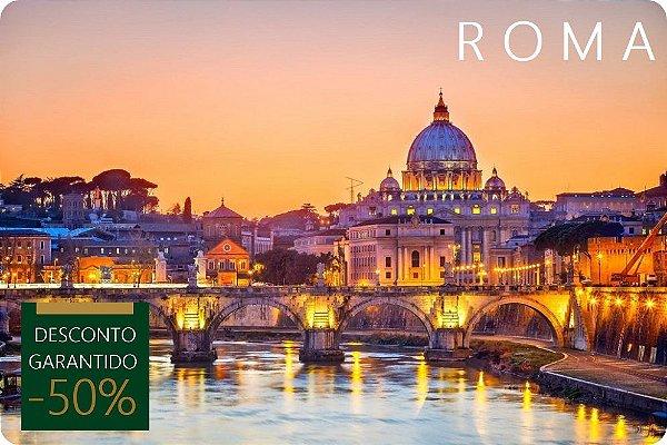 ROMA - Hotel + Traslados + Passeio