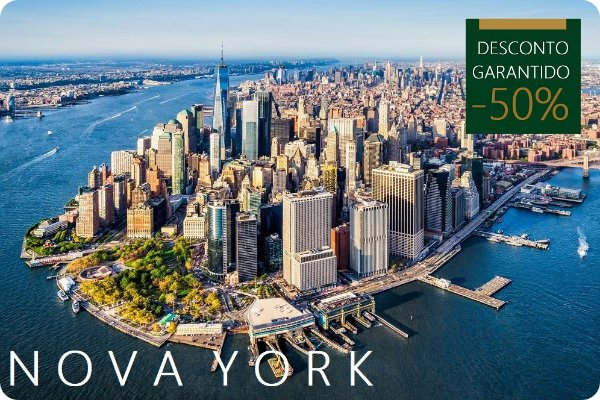 NOVA YORK - Hotel + Traslados + Passeio