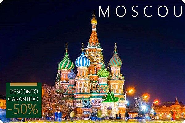 MOSCOU - Hotel + Traslados + Passeio
