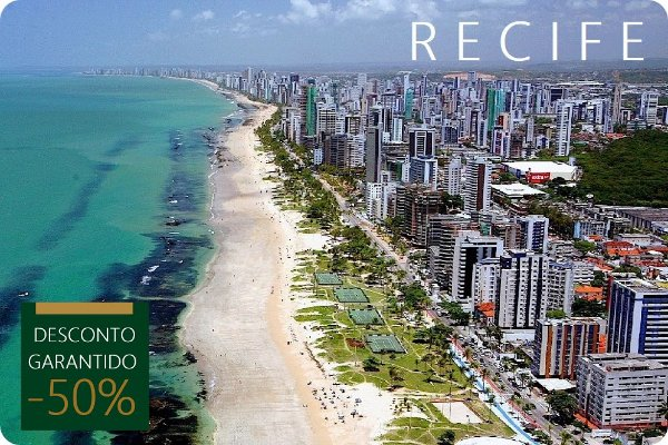 RECIFE - Hotel + Traslados + City Tour
