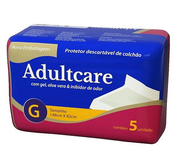 LENÇOL DESCARTÁVEL ADULTCARE GRANDE