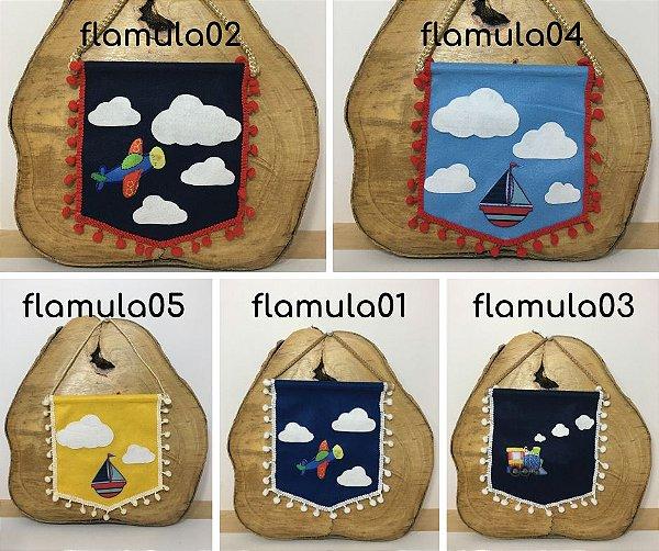 Flâmula para decoração
