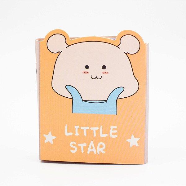 Bloco de Anotação  com  Cola  -Little Star -140folhas