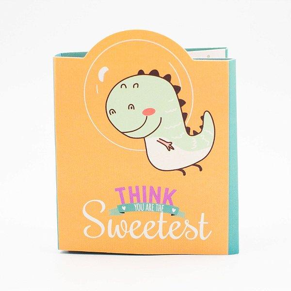 Bloco de Anotação  com  Cola  -  Think Sweetest/ 140folhas