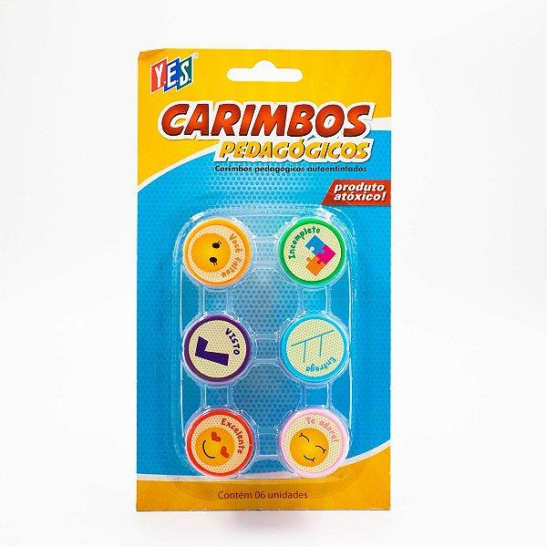 Carimbo Auto entintado - Pedagógico Cb064-1 - Yes