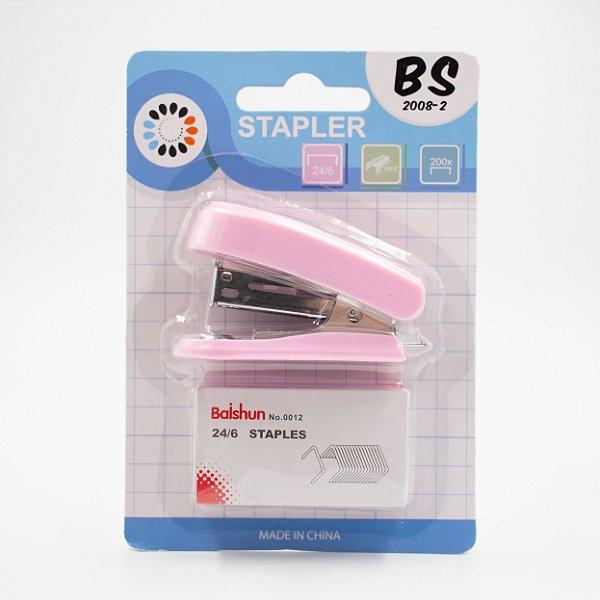 Grampeador Mini BS2008-2 /rosa