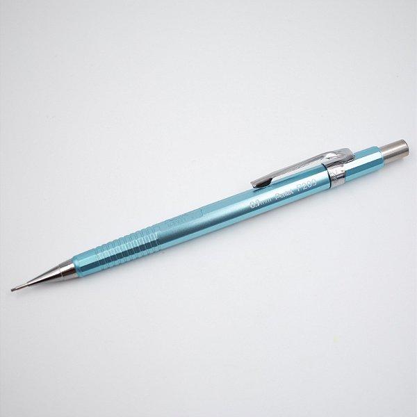 Lapiseira Pentel Sharp P200 Metallic 0.9mm azul
