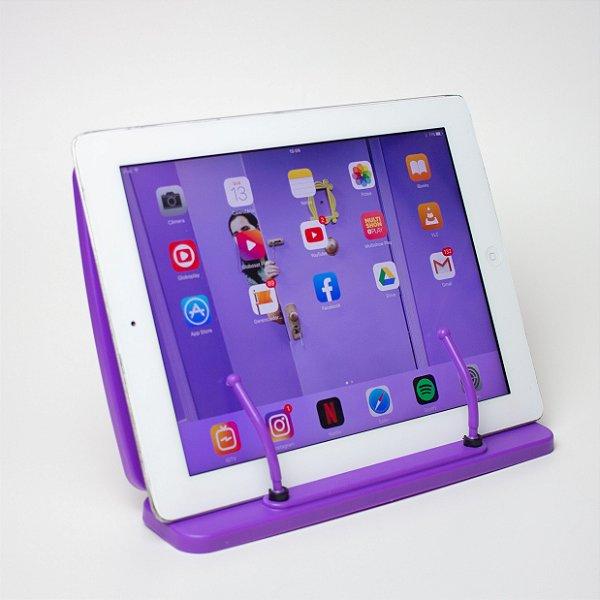 Apoio para Leitura e Tablet - Yes - Roxo