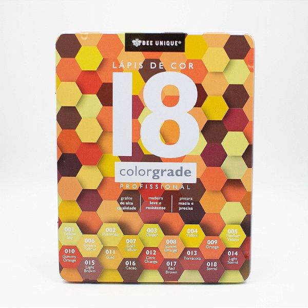 Lápis de Cor 18 ColorGrade Profissional OD-I90008