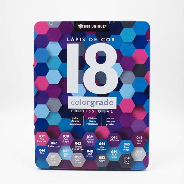Lápis de Cor 18 ColorGrade Profissional OD-I90005