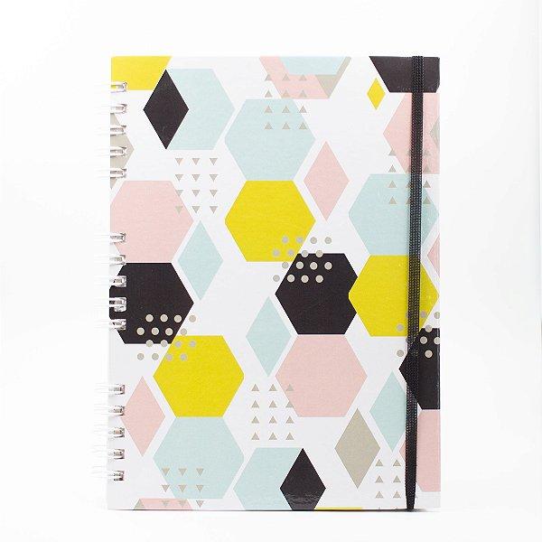 Caderno Universitário Espiral - Collab @paula.chavess (Polén)