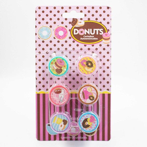 Carimbo Auto entitado - Donuts 02- Yes